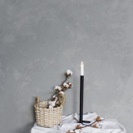 Storefactory Ekeberga ljusstake svart 40 cm