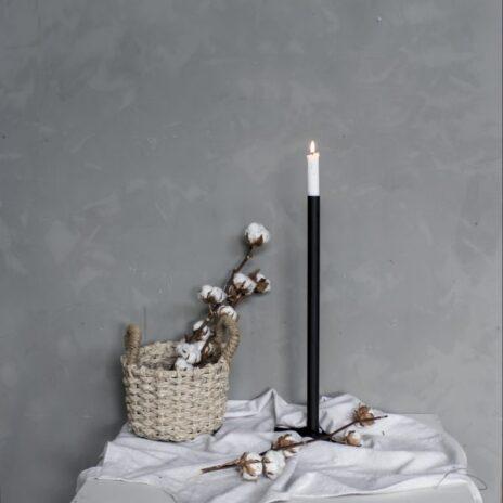 Storefactory Ekeberga ljusstake svart 50 cm