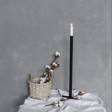 Storefactory Ekeberga ljusstake svart 60 cm