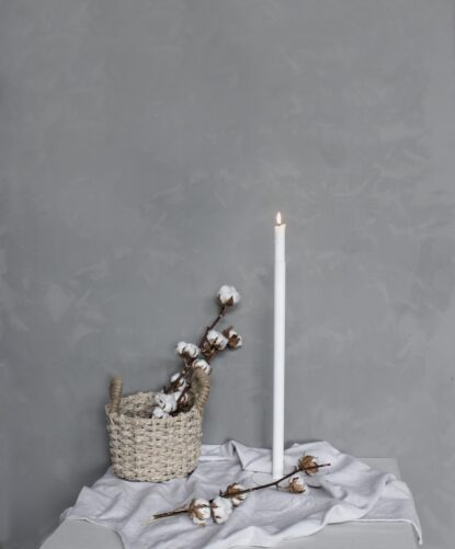 Storefactory Ekeberga ljusstake vit 50 cm