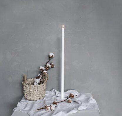 Storefactory Ekeberga ljusstake vit 60 cm