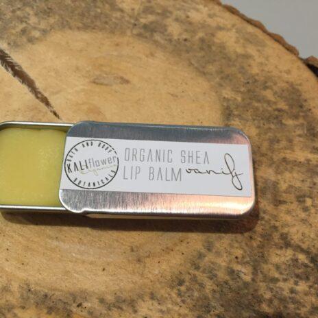 Kaliflower Organics Shea lip balm - vanilj