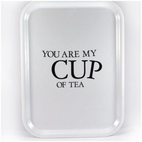Bricka Your my cup of tea - vit
