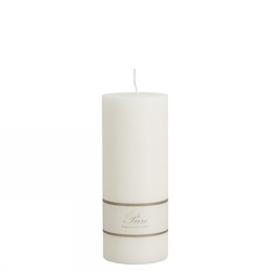 Stearinljus pure vit 8 x 20 cm