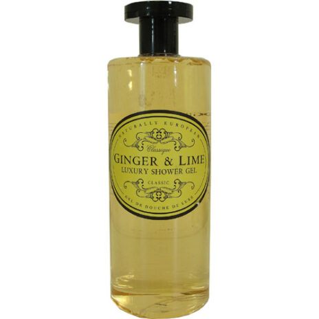 Naturally European ginger and lime showergel.jpg