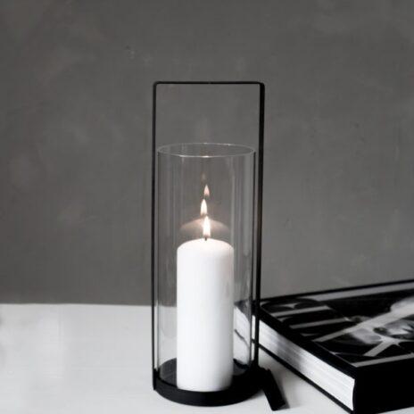 Storefactory Kvarnvik ljuslykta svart mellan