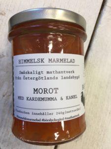 Börslycke gård himmelsk marmelad - Morot med kardemumma och kanel