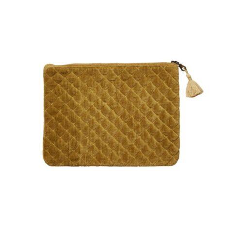Affari Väska/Clutch senapsgul