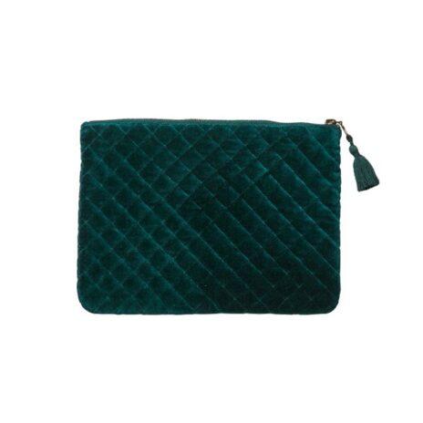 Affari Väska/Clutch mörkgrön