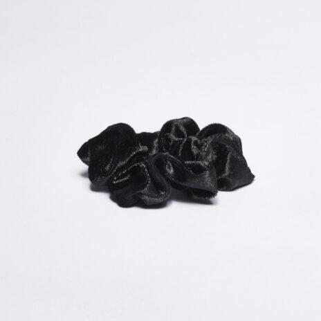 Scrunchie tofs svart stor