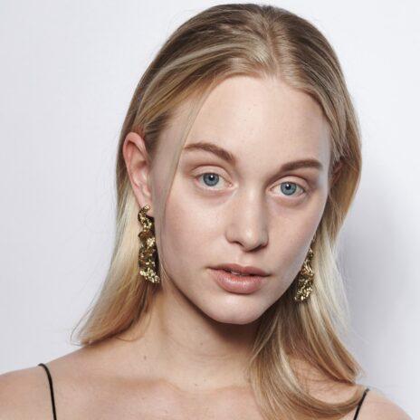 Örhängen Hanna guld modell