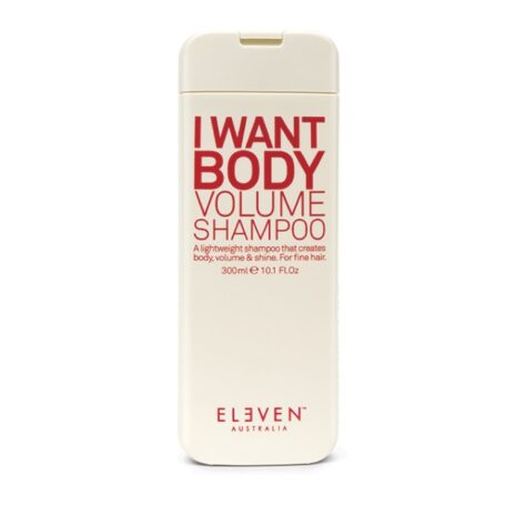 Eleven I want body volume shampoo