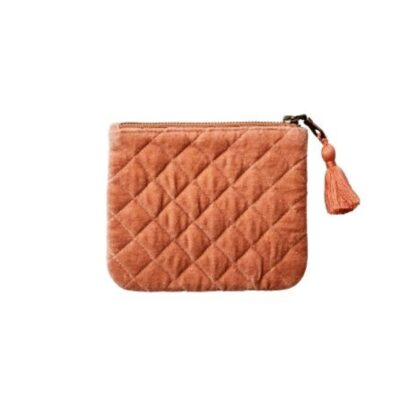 Affari Väska Clutch dusty orange liten