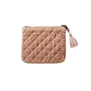 Affari Väska Clutch nude rosa liten