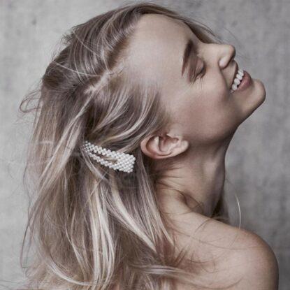 Hairclip Erika pärlor