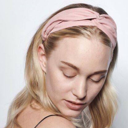 Headband Ebba ljusrosa