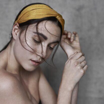 Headband Ebba gul