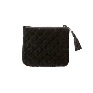 Affari väska clutch liten svart