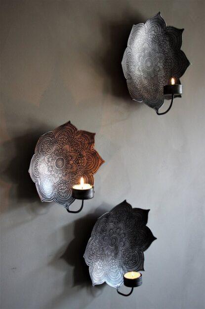 Majas Cottage Väggljusstake Mandala