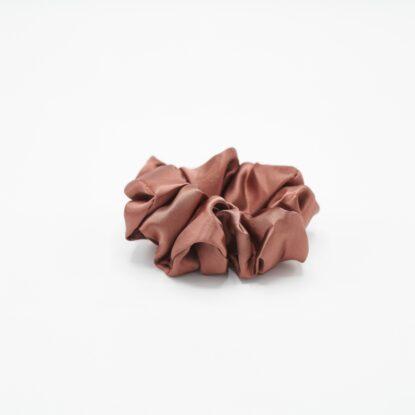 Scrunchie Bea rosébrown oversize