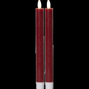 Antikljus 2-pack LED röd