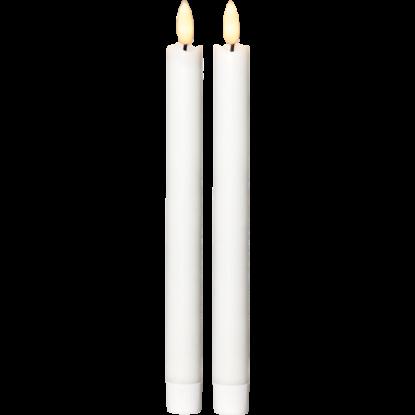 Antikljus 2-pack LED vit