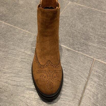 Boots camel cognac