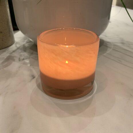 Ljuslykta Nilla ljusrosa 8 cm