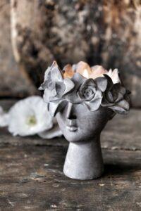 Majas Cottage Madame floral ljushållare