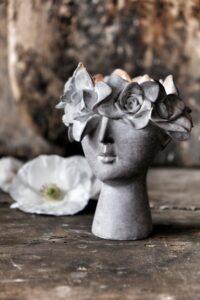 Majas Cottage Madame floral ljushållare 3