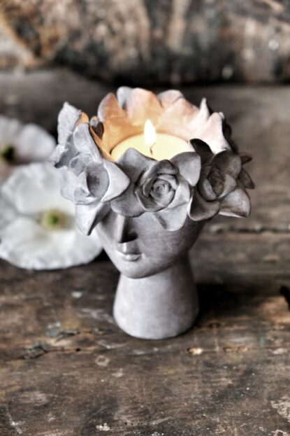 Majas Cottage Madame floral ljushållare ovan