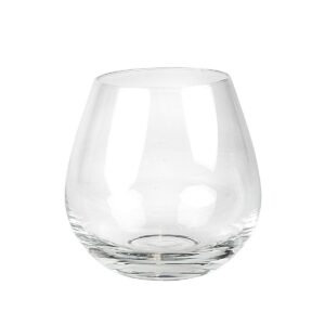 Rödvinsglas utan fot
