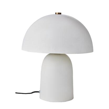 Affari Lampa Fungi vit