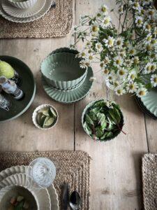 Storefactory Flora grön skål