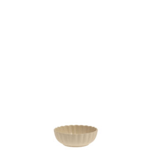 Storefactory Skål Flora beige mini