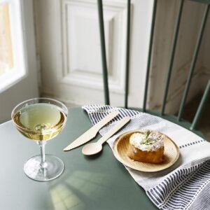 Champagneglas Kerstin lågt miljö 3