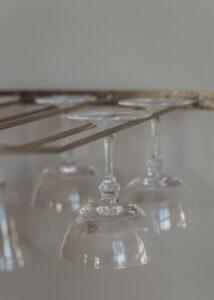 Champagneglas Kerstin lågt miljö 6