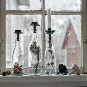ljushållare flaska ingrid miljö