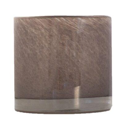Ljuslykta Nilla brungrå 10 cm