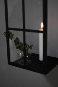 Storefactory Väggljusstake Bruket svart 3