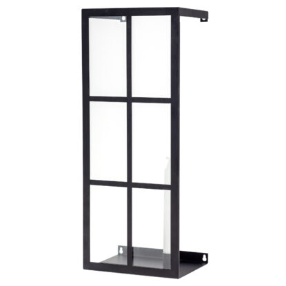 Storefactory Väggljusstake Bruket svart 4